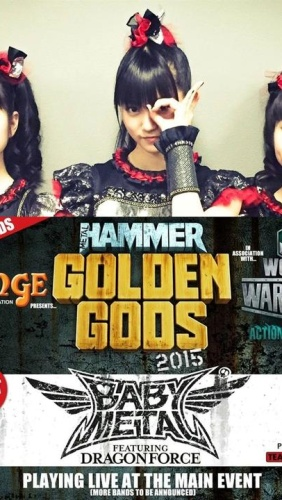 Golden Gods – Baby Metal DragonForce