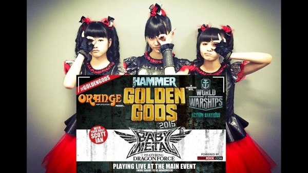Golden Gods - Baby Metal DragonForce
